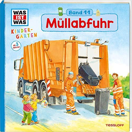 Sachbuch über Müllabfuhr ab 3 Jahre