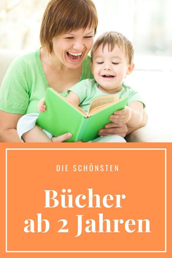 Pinterest-Bild mit Titel: Bücher ab 2 Jahre