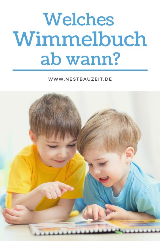 """Pinterest-Bild mit Titel """"Welches Wimmelbuch ab wann?"""""""