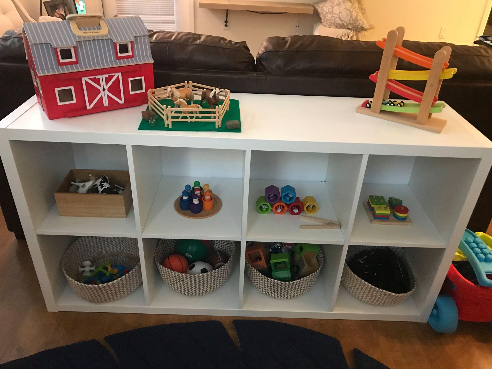 Montessori Freispielregal