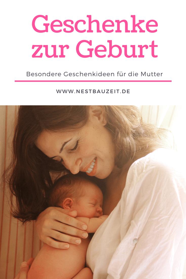 Pinterest-Bild Mutter mit Baby