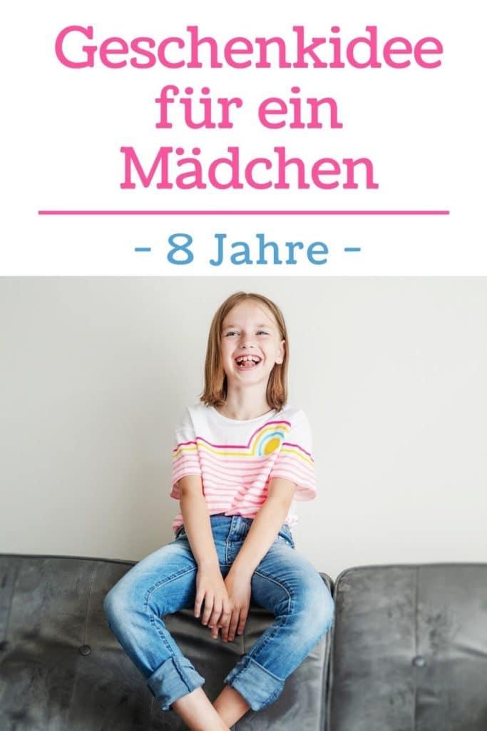Pinterest-Bild: Geschenkidee für ein Mädchen - 8 Jahre