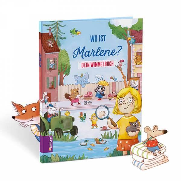 Personalisiertes Jahreszeiten-Wimmelbuch