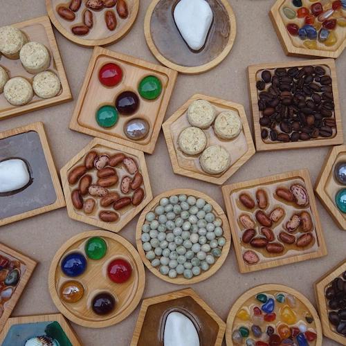 Sensorisches Montessori Babyspielzeug