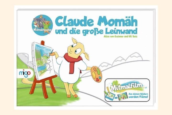 Malbuch Mitmalfilm-Buch Claude Momäh