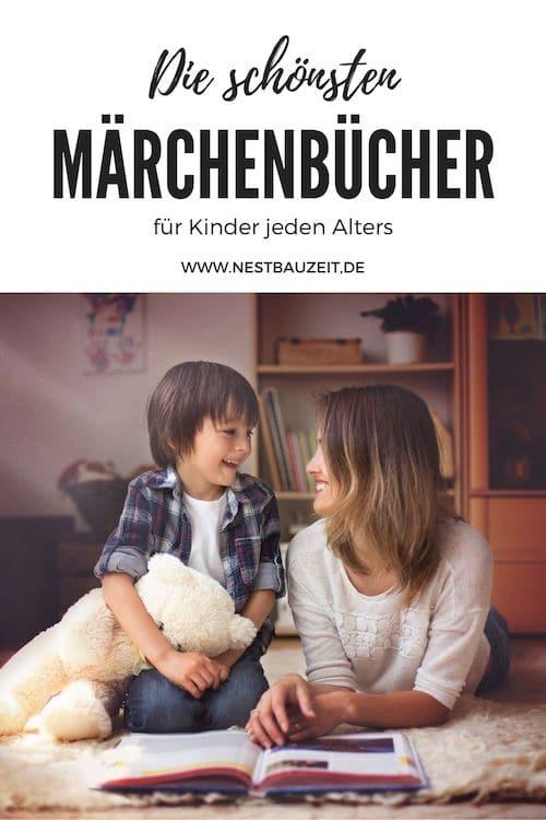 Pinterest-Bild: Märchenbücher