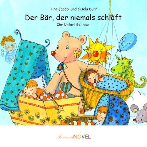 Personalisierte Kinderbücher für Mädchen - Der Bär, der niemals schläft - W